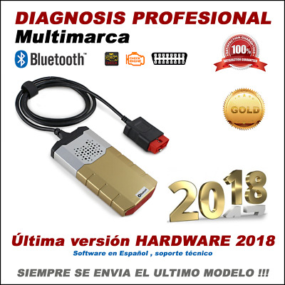 Maquina Diagnosis Bluetooth Multimarca 2017 Serie Oro Escaner Codigo Obdii Obd2