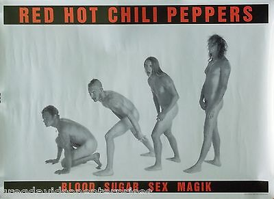 Red Hot Chili Peppers 25x35 Blood Sugar Sex Magik Poster