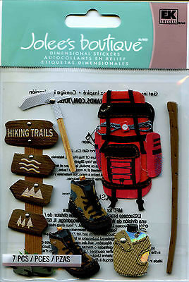 "Jolee's Boutique ""HIKING TRIP"" Dimensional Scrapbooking Stickers - D46"