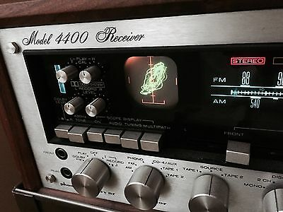 Marantz 4400 With Wc-43 Wood Case And Rc-4 Model X/y Axis Speaker Control