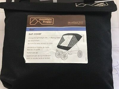New Mountain Buggy Sun Cover DUO Double Seat