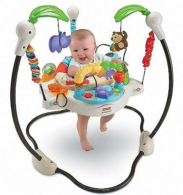 Baby JUMPEROO Fisher-Price Luv U Zoo Infant Jumperoo NEW