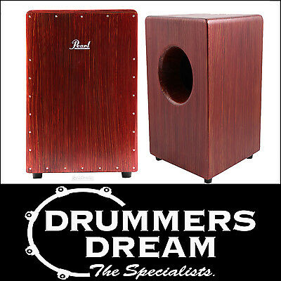 Pearl Boom Box Cajon Percussion Rhythm Box - Artisan Red Mahogany PCJ-633BB NEW
