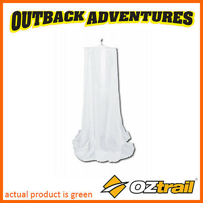 Oztrail Mosquito Double Net White Bell Style Mozzie Protection