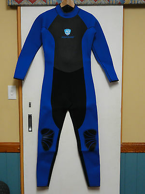 New Aqua-Guard Womens Full Wetsuit 3.5mm Neoprene