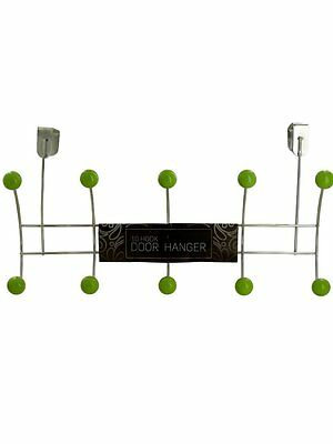 Over the Door Hooks 10 Coat Hanger Rack Organizer