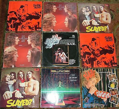 SLADE LP Collection