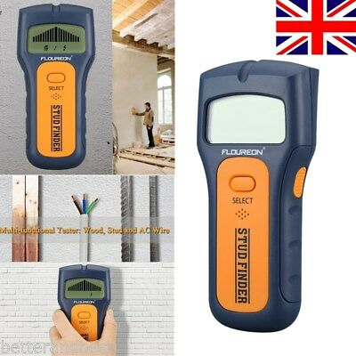 New 3in1 Stud Wood Wall Center Finder Scanner Metal AC Live Wire Multi-Detector
