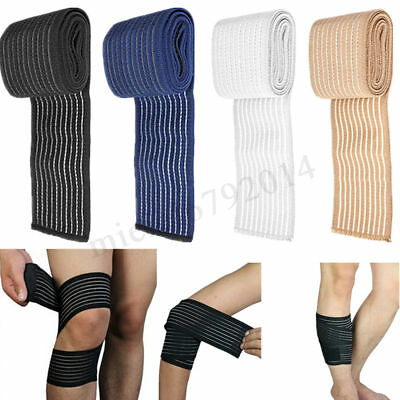 Knee Elbow Wrist Shin Ankle Hand Support Wrap Sport Bandage Compression Strap UK