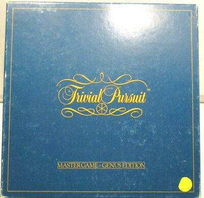 Vintage Trivial Pursuit. 1983 Horn Abbut International. Parkers Brothers.