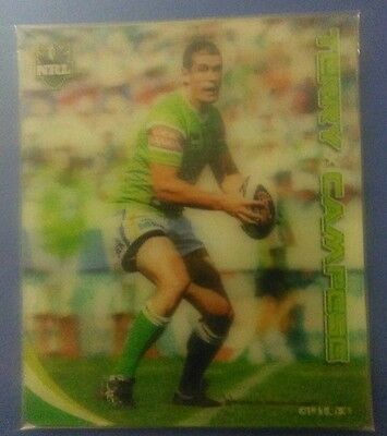 2010 footyplays nrl  TAZO -#11  TERRY CAMPESE Canberra raiders.