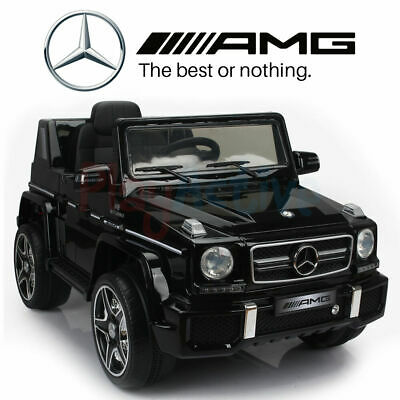 Mercedes Benz G63 Amg Licensed 12V Kids Ride On Jeep Remote Control Car / Cars