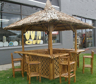 Bali Hut 3m x 3m roofline with bar top  $3.000.00 - AVAILABLE NOW