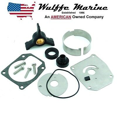 Water Pump Impeller Kit for Johnson Evinrude 40 48 50 Hp Outboard 18-3394 433548