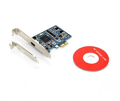 761H PCI-E HDMI HDCP Decode Video Capture Card Grabber High Quality UK