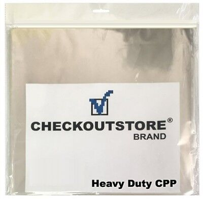"(SAMPLE) - 1 COS Clear Plastic CPP for 12"" Vinyl 33 RPM Records (Outer Sleeves)"