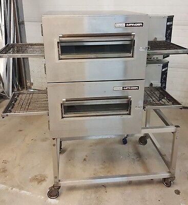 Lincoln Impinger 1130 Double Stack Electric Pizza Conveyor Ovens...208 / 1 Phase
