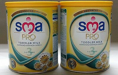 x2 SMA Pro Toddler Milk 1-3 years 400g each Most Advanced Formula BEST PRICE!!!!