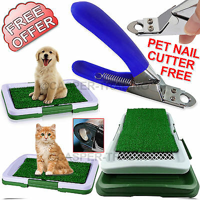 Puppy Potty Training Pad Mat Pet Toilet Trainer Dog Litter Tray Nail Cutter Free