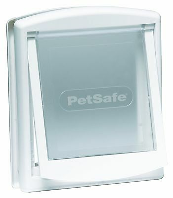 CAT FLAP WHITE (Lockable, suitable for other small animals)