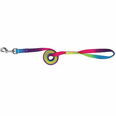 Lead rope, Training Rainbow, multicolour matching with Halter u Knotted