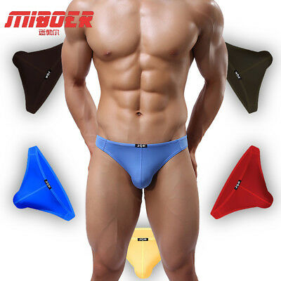 Men's Stretch Lycra Soft Semi See-Through Thong G-String - Lingerie Gift For Him