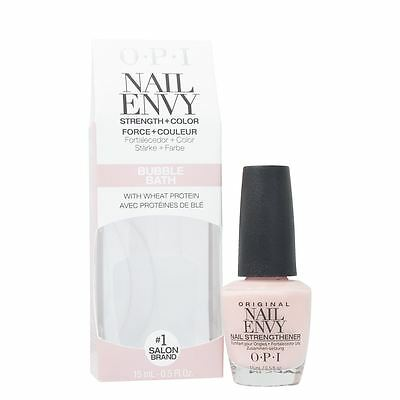 OPI Nail Envy Bubble Bath Nail Strengthener 15ml with Wheat Protein