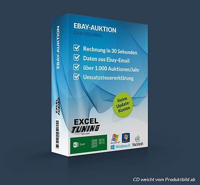 Excel-Tuning - Auktionsabwicklung (Ebay Mail-Texte)