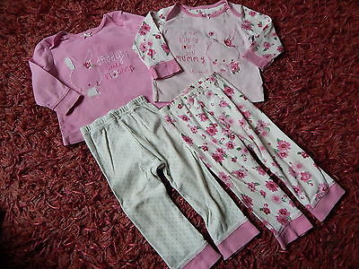Baby ~ Girls ~ Mothercare Pyjamas ~ Size 9-12 months ~ BOX A13