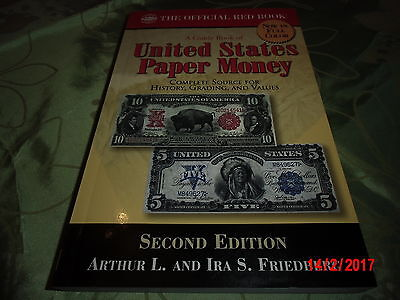 A Guide Book of United States Paper Money - Second Edition Red Book - Friedberg