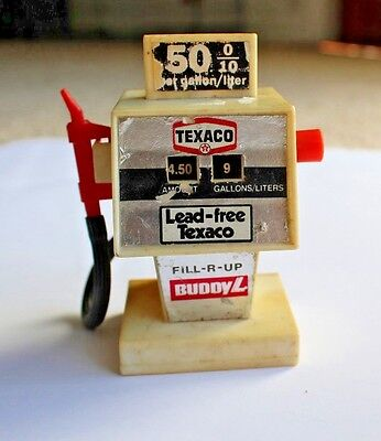 Vintage Antique Texaco Fill-R-Up Buddy L Pump Toy