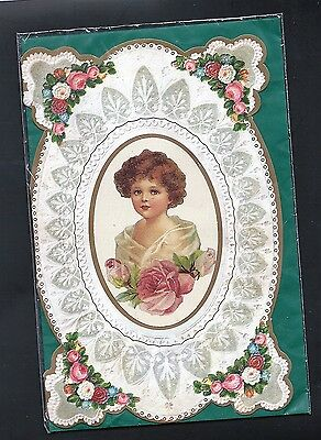 Victorian reproduction card & Envelope -Quality imported English Halcyon Brand .