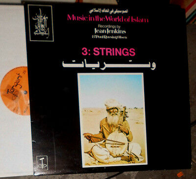 Music In The World Of Islam Vol.3: Strings (Jean Jenkins, Poul Rovsing Olsen) Lp
