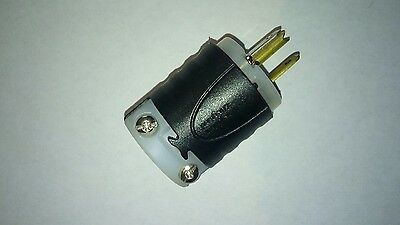 pass and seymour 125v 15 amp plug male end electrical 10 piece lot