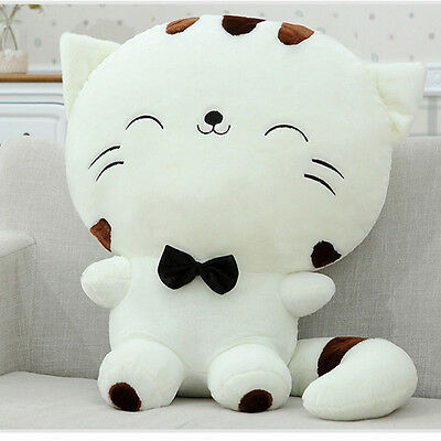 Lovely Fortune Cat Kitty Gift Plush Stuffed Toy Soft Doll Cushion Sofa Pillow TN