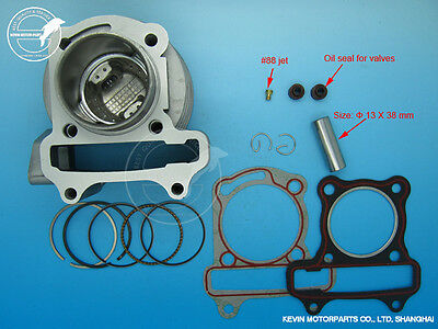 80cc Big Bore Kits Cylinder Chinese Scooter moped 50cc GY6 139QMB Taotao Kymco