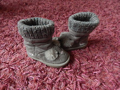 Girls ~ Blue Zoo ~ Mouse Boots ~ Size 5 ~ Vgc ~ Ref Box A6