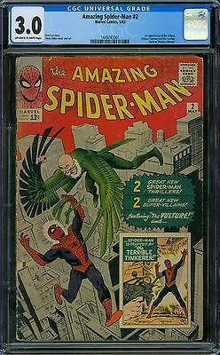 Amazing Spider-Man 2 CGC 3.0 - OW/W Pages