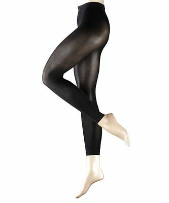 Falke - Pure Matt, fein, Leggings Donna, Nero (Black), M