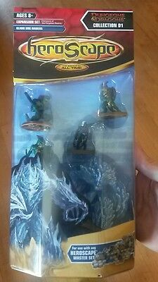 Heroscape Glaun Bog Raiders Champions of the Forgotten Realms Miniatures Sealed