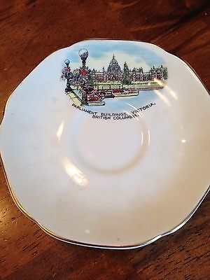 Royal Grafton Fine Bone China Tea Cup And Plate Victorian Buildings B.c.
