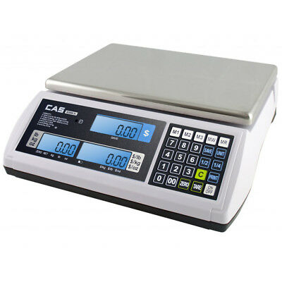 CAS S2000 Jr Price Computing Scale 60 Lb