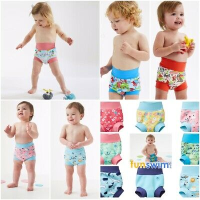 Splash About Happy Nappy Swim Baby Toddler UVPF50+ Birth 3yrs Reusable Neoprene