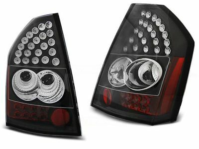 Led Rear Tail Lights Ldch12 Chrysler 300C Saloon 2009-2010 Black