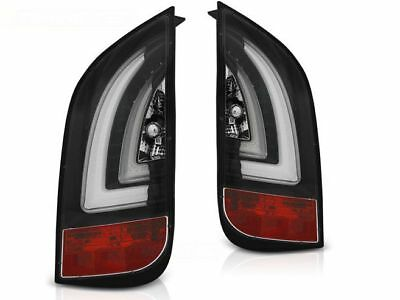 Led Rear Tail Lights Ldvwf4 Vw Up! 2011- / Skoda Citigo 2011- Black