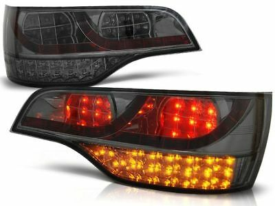 Led Rear Tail Lights Ldau59 Audi Q7 Suv 2006 2007 2008 2009 Smoke Led