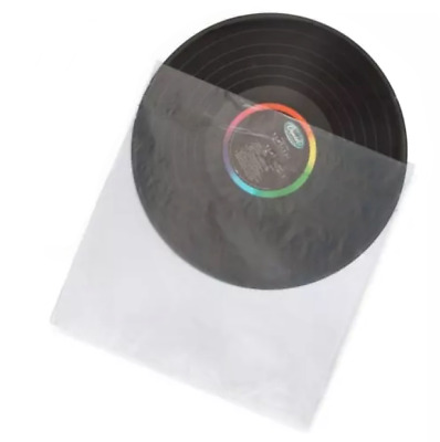 "12"" Anti-Static plastic Inner Vinyl LP Record Sleeves (100 pieces) poly bags"