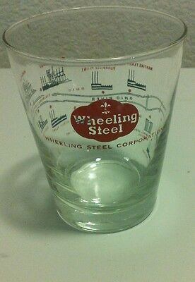 Wheeling WV steel glass perfect condition!