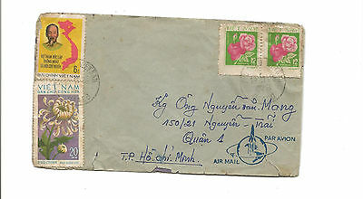 1988 Vietnam airmail cover to HCM City