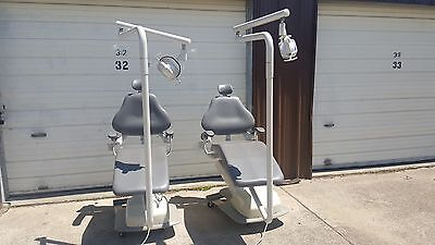 Dental-EZ AXCS Dental Exam Chair with Light and control